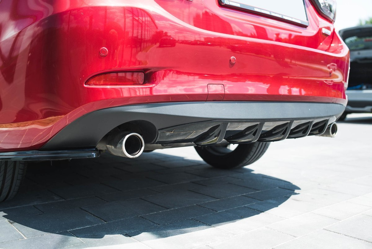 Dokładka Tył Mazda 6 GJ (Mk3) Facelift - GRUBYGARAGE - Sklep Tuningowy